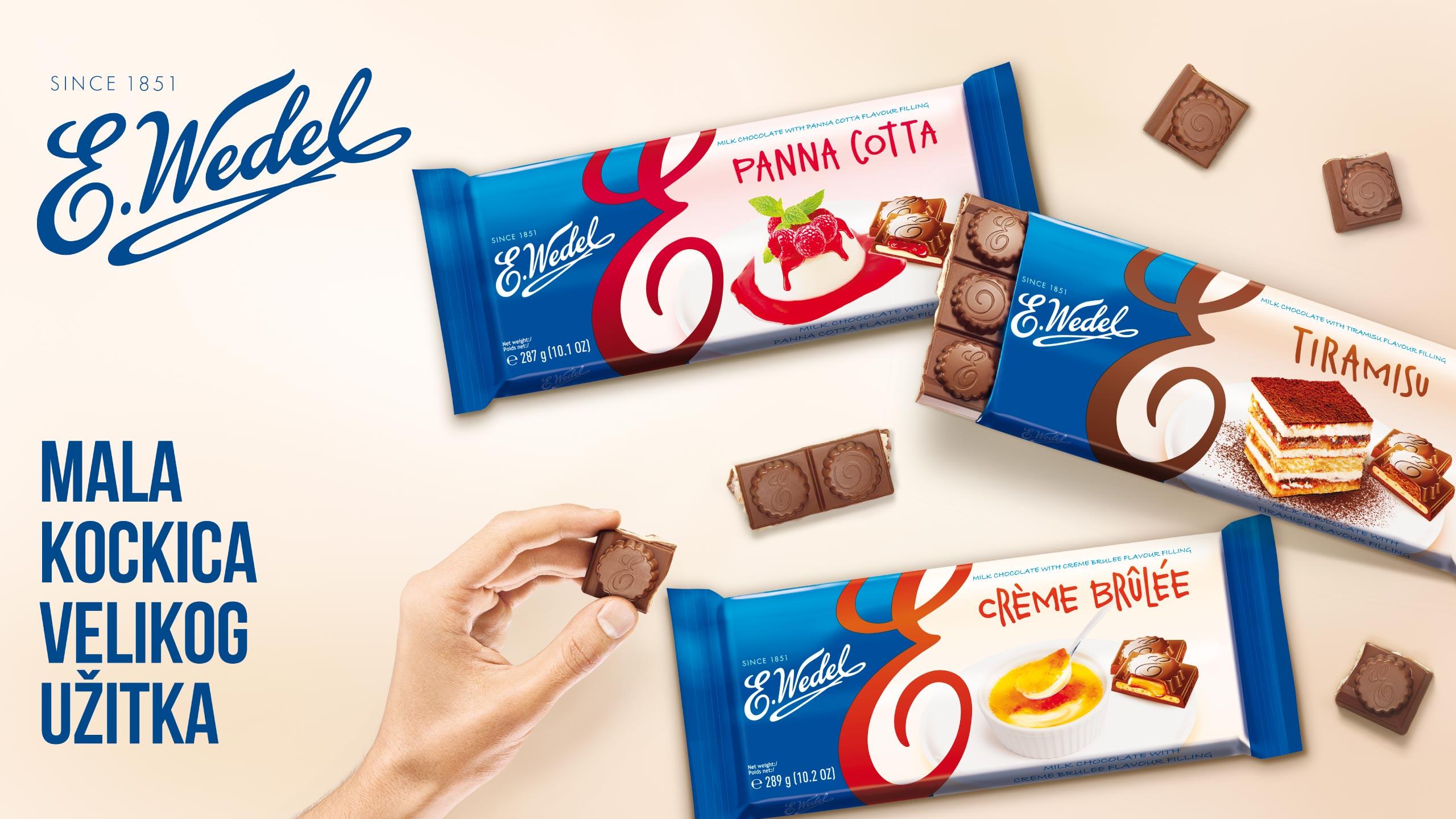 E. Wedel čokolada | Agencija AQUARIUS | Banja Luka